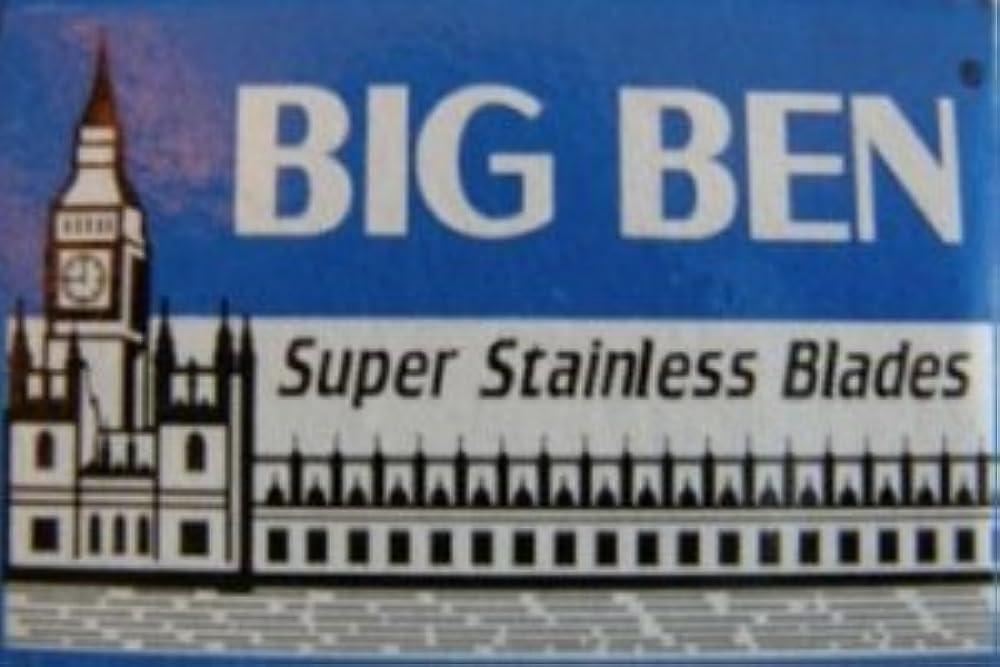 重量亡命略すBig Ben Super Stainless 両刃替刃 5枚入り(5枚入り1 個セット)【並行輸入品】