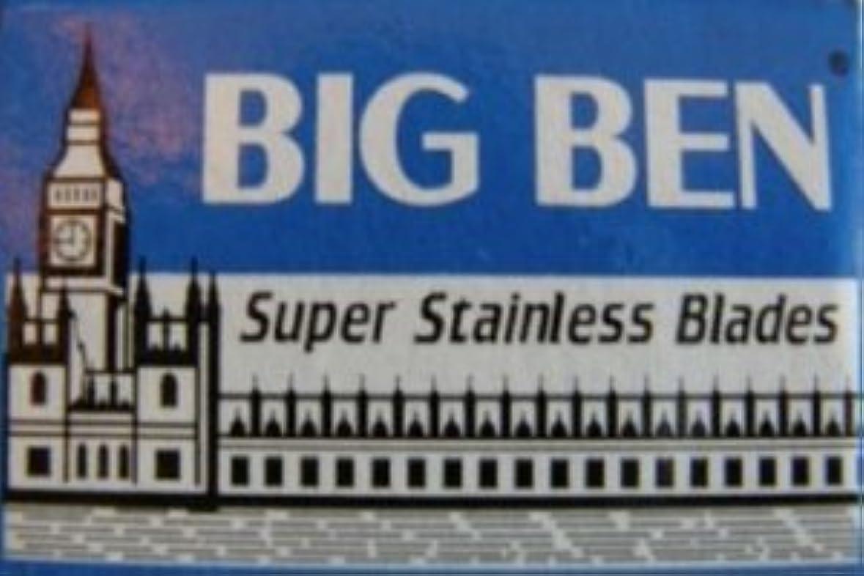 時代遅れ膜瞑想Big Ben Super Stainless 両刃替刃 5枚入り(5枚入り1 個セット)【並行輸入品】