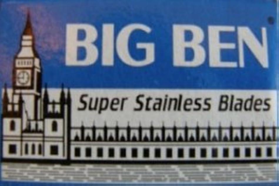 軽食ケントつぶすBig Ben Super Stainless 両刃替刃 5枚入り(5枚入り1 個セット)【並行輸入品】
