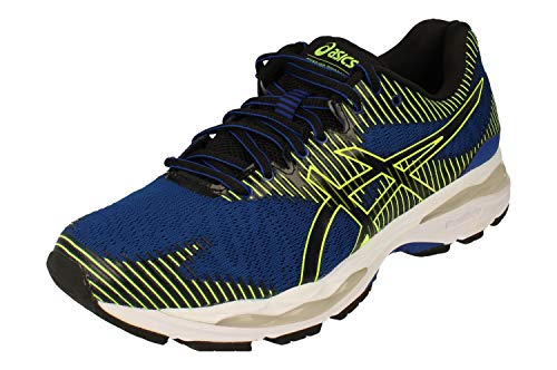 Asics Gel-Ziruss 2 Hombre Running Trainers 1011A924 Sneakers Zapatos (UK 12 US 13 EU 48, asics Blue Black 404)