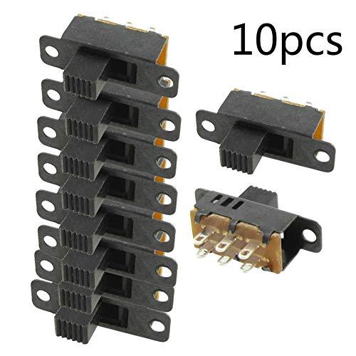 Agger 10PCS Alto Mando posición Interruptor DPDT