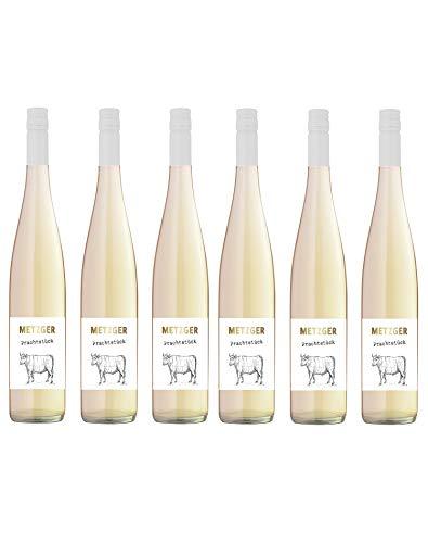 """Metzger """"Prachtstück"""" Spätburgunder """"Blanc de Noirs"""", QbA, trocken Deutschland aus der Pfalz (6 Flaschen)"""