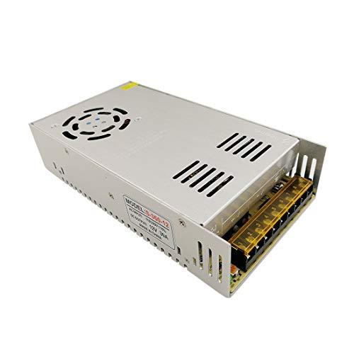 JOYLIT DC 12V 30A Alimentation à découpage Transformateur de tension 360W convertisseur de d'alimentation pour CCTV Radio Projet Informatique lumières LED