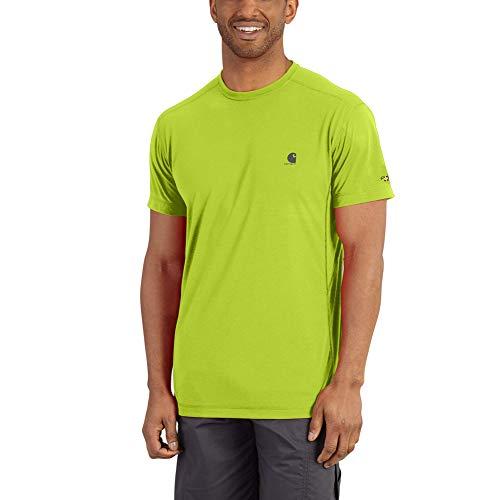Carhartt Force Extremes Short Sleeve T Shirt Lavoro, Mela acida, M Uomo