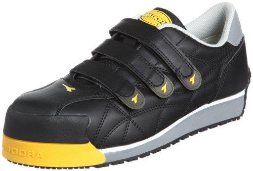 [ディアドラユーティリティ] 作業靴 スニーカー アイビス IB22 メンズ ブラック 23.0(23cm)