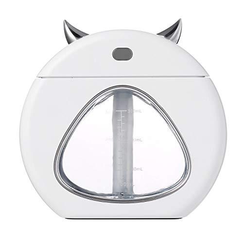 Luchtbevochtiger aromatherapie aromatherapie lamp slaaphulp nachtlicht mini huis tafel luchtbevochtiging USB auto kantoor schoonmaken kleine luchtbevochtiger wit 139 * 58 * 131 mm wit