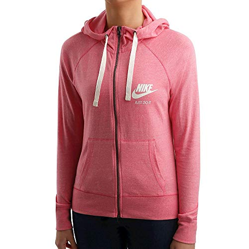 Nike Sportswear Gym Vintage Hoodie (Lotus Pink/Sail, X-Small)