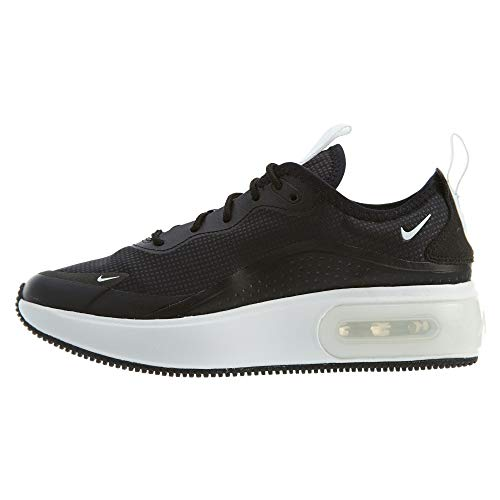 Nike Womens Air Max Dia Running Shoes (9, Black/Summit White)