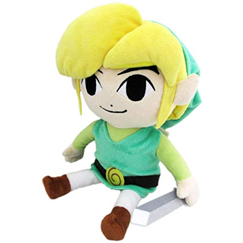 Little Buddy The Legend of Zelda The Wind Waker 8'' HD Link Plush, Multi-Colored