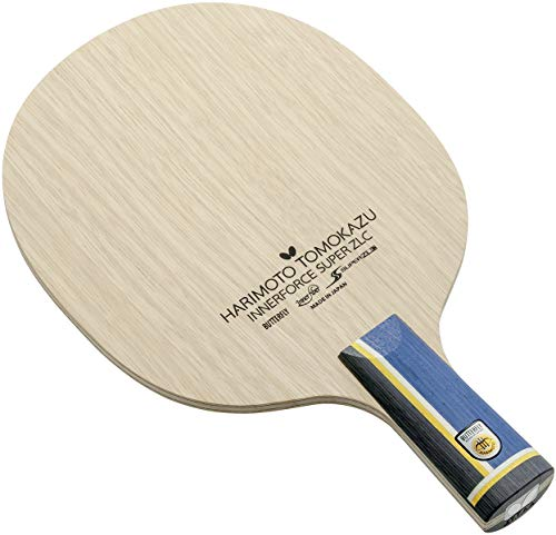 Butterfly Harimoto Innerforce Super ZLC CS Table Tennis Blade | Super ZLC Carbon Fiber Blade | Professional Table Tennis Blade | Chinese Penhold Handle | Made in Japan