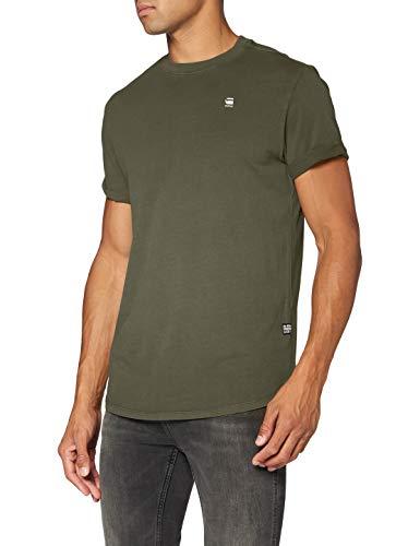 G-STAR RAW Mens Lash T-Shirt, wild Rovic B353-B111, Medium