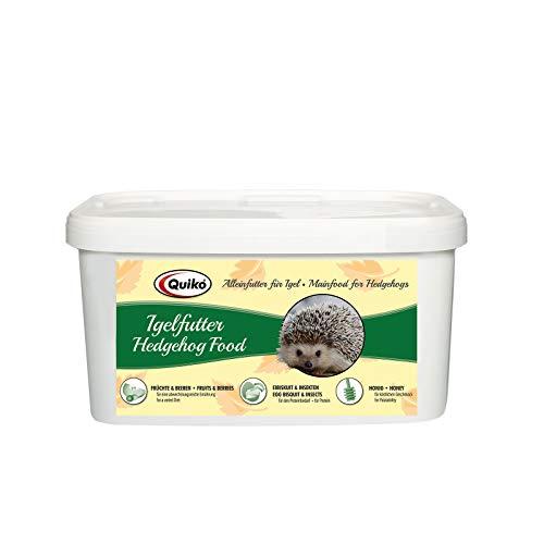 Quiko Karma dla jeży 3 kg – wysokiej jakości karma z owadami, biskwitem jajka, owocami i jagodami – specjalnie dostosowany do potrzeb jeżyka
