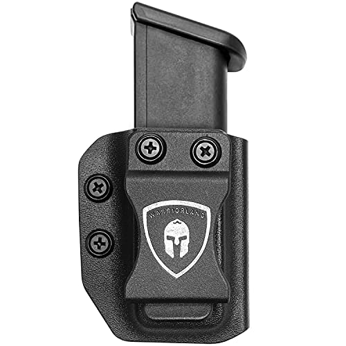 Universal Mag Carrier IWB/OWB Magazine Holster 9mm/.40 Double Stack Fits Only: Glock 17 / Glock 19 / Glock 26 / Glock 45(Gen 3-5) / HK VP9, Not Fit Any 9mm/.40 Single Stack Magazines