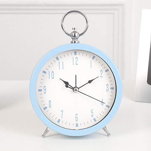 LHHLH Despertador, Niños, Despertador Silencioso, Pequeño Reloj Nuevo, Reloj De Noche para Estudiantes