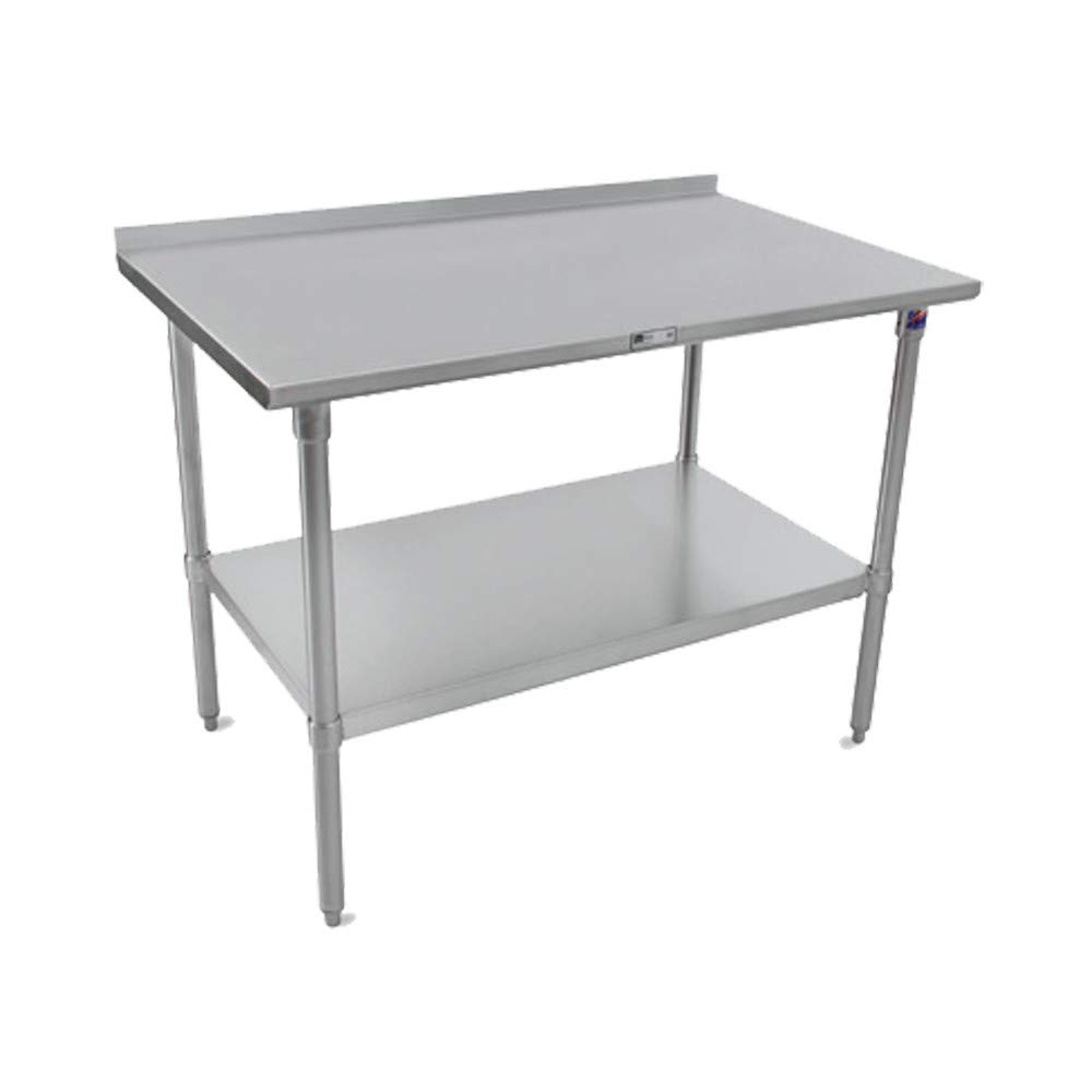 John Austin Mall Boos Raleigh Mall ST6R1.5-24120GSK 16 300 Top Table Stainless 120
