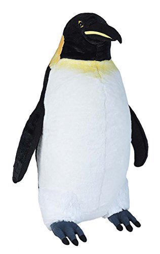 Wild Republic 20715 Jumbo Plüsch Pinguin, großes Kuscheltier, Plüschtier, Little Biggies, 53 cm