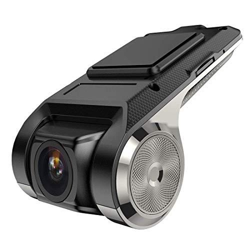DBSCD 1080P-Autokamera mit 170 ° Weitwinkel, Nachtsicht, Bewegungserkennung, G-Sensor, WDR und Schleifenaufnahme