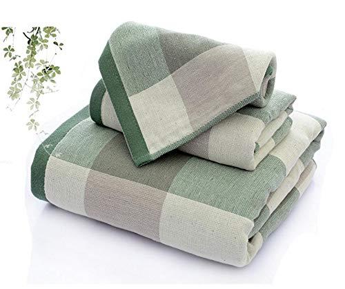 ZZHH 3PCS/Set Diffuse Cotton Gift Bath Towels Set Luxury Bath Sheet...