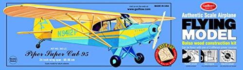 Guillow's Piper Super Cub 95 Laser Cut Model Kit