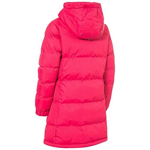Trespass Childrens Girls Tiffy Padded Jacket (9/10 Years) (Raspberry)