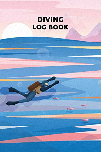 Diving Logbook: Scuba Diver Dive Count Tracker Notebook and logbook