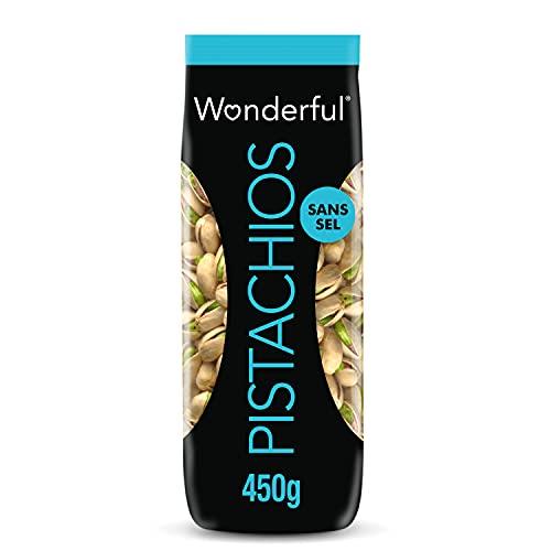 Wonderful Pistachios & Almonds Sachet Pistaches Sans Sel 450...