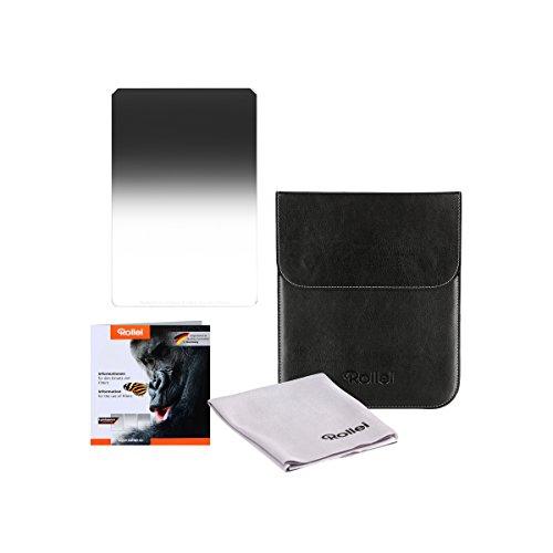 Rollei Filtro Mark II Medium GND Rectangulare Profesionale - Filtro de Densidad Neutra Graduado Medio (150x170 mm) Gorilla Glass - Medium GND 32 (5 Stops/1,5) Sistema 150 mm