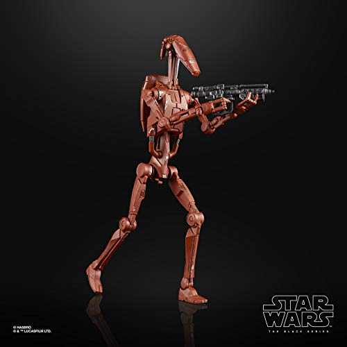 Black Series Star Wars The Battle Droid (Geonosis) Toy 6-inch Scale Attack...