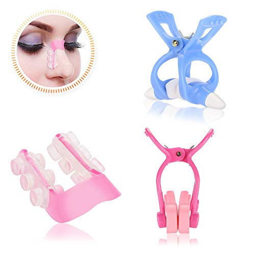 Nose Lift Up Shaping Clip Shaper Kit, 3Pcs / Set Nose Massager Roll Slimmer para enderezar el puente Corrección de la nariz Mayor Set Face Face Beauty Tool