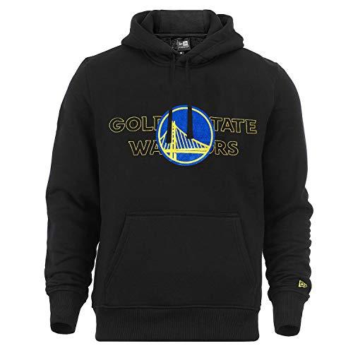New Era Golden State Warriors Hoody NBA Graphic Overlap Black - L