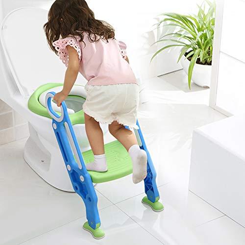 Ejoyous toilettensitz Kinder, Kinder Toilettensitz Stuhl, Kinder WC Leiter mit rutschfesten Füße, Töpfchen Trainingssitz für Training Babyform die Gewohnheit der unabhängigen Toilette