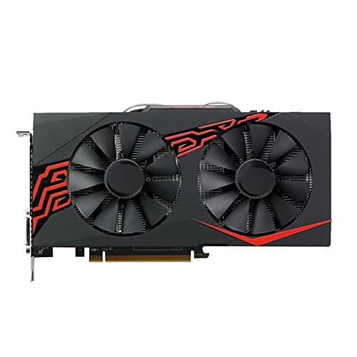 Fit for ASUS RX 570 Tarjeta de Video de 4GB GPU Radeon RX570 Tarjetas gráficas de 4GB AMD Mapa de Pantalla de Juegos de computadora 580560550 Tarjeta de Video VGA