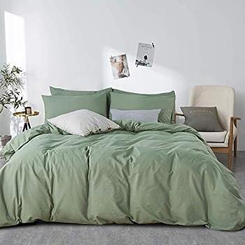 Best green comforter set full Reviews