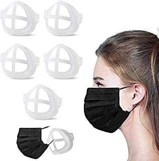 3D Breathing Relief Face Mask Support Reusable Frame Silicone 5PCS For Adults For Kids Reusable Makeup Protector Comfortab...