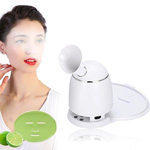 2in1 Gesichtsmaske Maschine und Gesichtsdampfer, Filfeel automatische DIY Masken Maker mit dampfenden Gesicht Funktion für natürliche und organische Obst Gemüse Kollagen(#01)