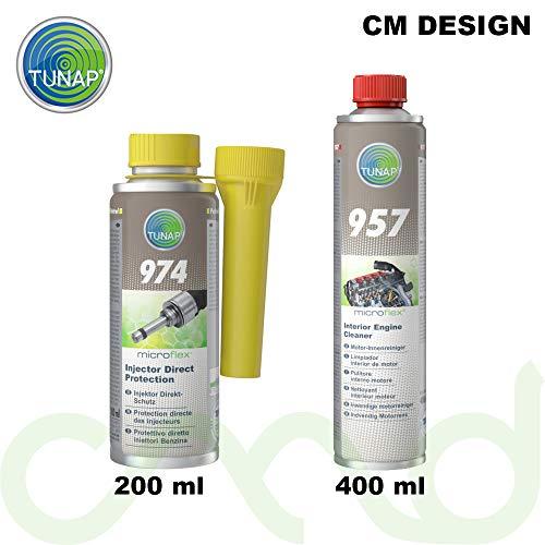 3. TUNAP Kit Limpieza Motor y Inyectores Gasolina 974 157