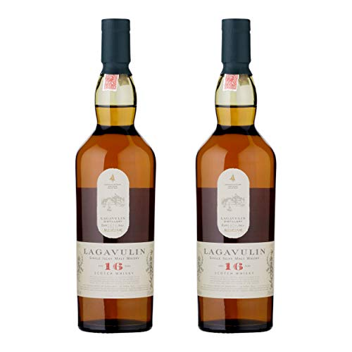 Lagavulin 16 Years/Jahre, 2er, Single Malt, Whisky, Scotch, Alkohol, Alokoholgetränk, Flasche, 43%, 200 ml, 581364