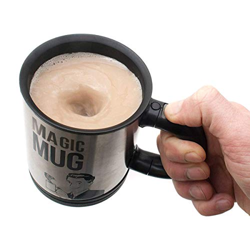 Magic Mug Becher Selbstrührender Tasse Lazy Kaffeebecher Kaffeetasse Thermosbecher