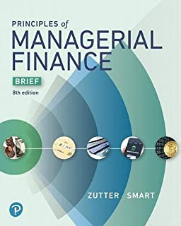 Principles of Managerial Finance, Brief