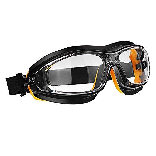 Gafas Protectoras de Seguridad Polvo De Choque del Viento Resistente A Los Ácidos Aerosoles Químicos Salpicaduras De Pintura Anteojos De Protección Gafas De Seguridad En El Trabajo Hombre Mujer