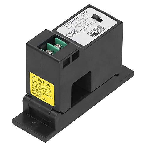 Interruptor de detección de corriente CA 0-50A, SZT20-SH-420E Transmisor de corriente CA en miniatura ajustable, para medición y monitoreo de corriente CA