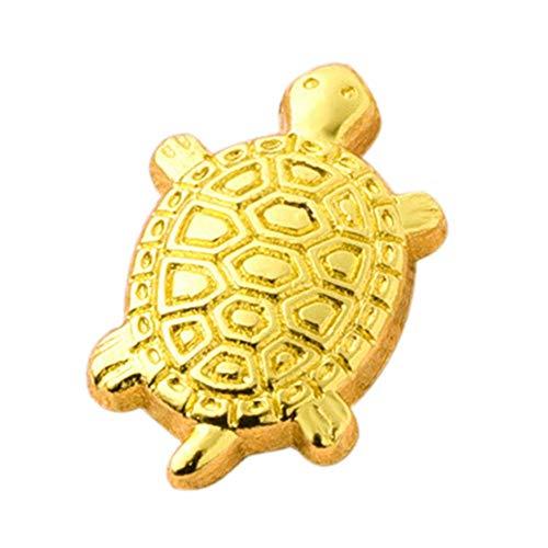 hifuture Desktop Dekoration Maskottchen Japanische Geld Schildkröte Asakusa Tempel kleine goldene Schildkröte, Beten für die Vermögen Hausausstattung schützt Familienglück