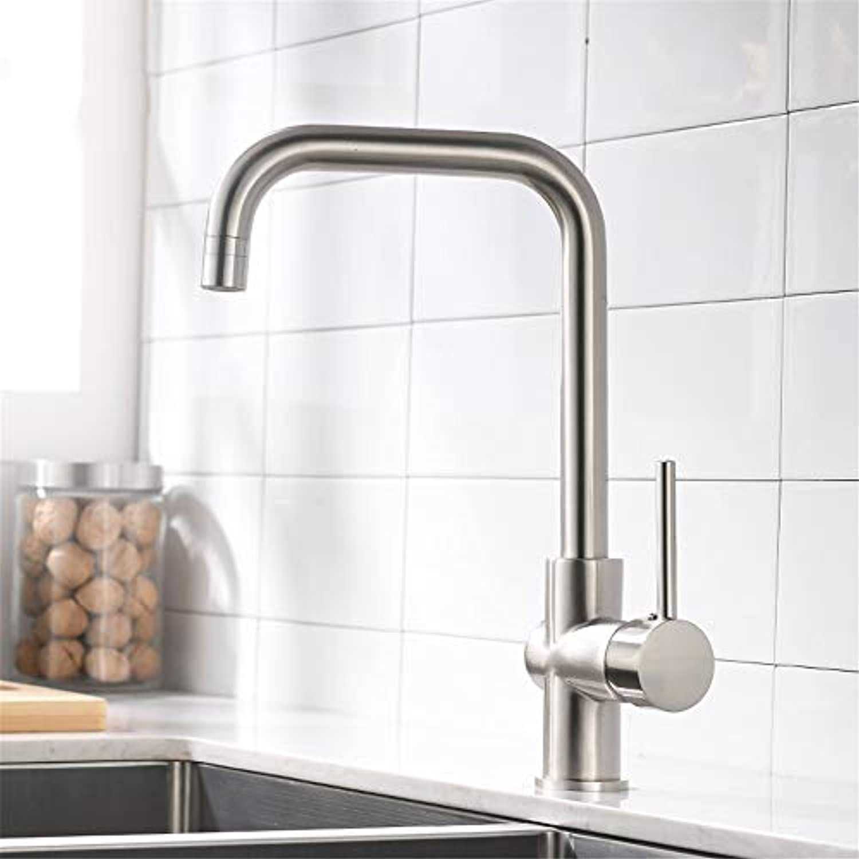 Küchenarmaturen Gebürstetem Nickel Messing Wasserhahn 360 Drehen Swivel 2 Funktion Wasserablauf Mixer Kitchen Sink Tap