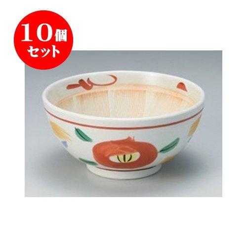 10個セット すり鉢 山茶花5.0スリ鉢 [15.3 x 7.5cm] 【料亭 旅館 和食器 飲食店 業務用 器 食器】