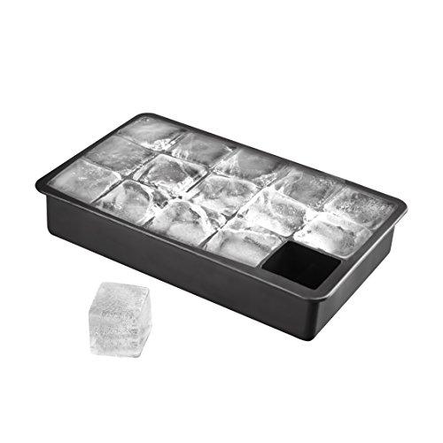 15-fach XL Eiswürfelform aus Silikon, riesige Eiswürfel, XXL Eiswürfel 3 x 3 x 3 cm