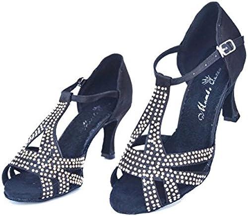 Dancing Heels High Tanzschuhe,Diamant Frauen QWERTYUIOP