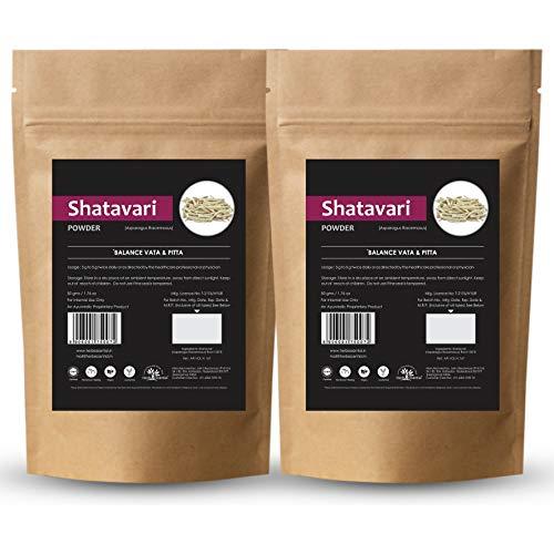 Herb Essential Pure Shatavari Powder - 50 g (Pack of 2)