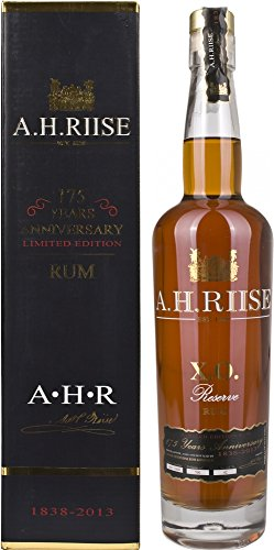 A.H. Riise Special Edition 175 Years Anniversary X.O. Reserve Rum - 700 ml