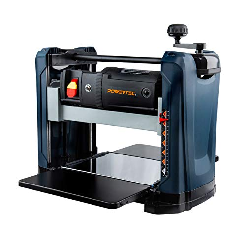 POWERTEC 2-Blade Portable Benchtop Thickness Planer