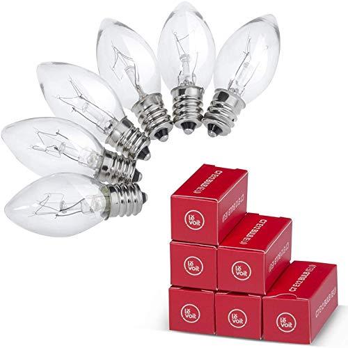 Levoit 15Watt Himalayan Salt Lamp Bulbs, 6 Pack-E12 Socket Incandescent Light Bulbs...